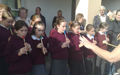 Annaduff National School Tin Whistle Band